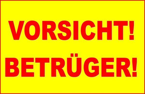 Bad Dürkheim – Neue Betrugsmasche! Betrüger geben sich als Inkassodienst aus