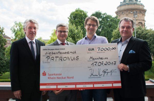 "Mannheim – Spende an  ""PATRONUS"""