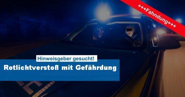 Bad Dürkheim – An roter Ampel überholt und Fußgänger gefährdet! Zeugen gesucht!
