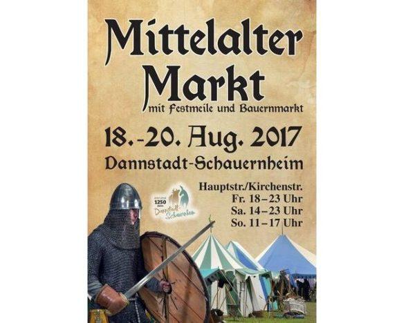 Dannstadt-Schauernheim – Mittelalter- und Bauernmarkt im Rahmen des 1250-jährigen Jubiläums