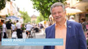 Ludwigshafen – Hans Arndt Bundestagskandidat FREIE WÄHLER vom Stadtjugendring zur Podiumsdiskussion ausgeladen