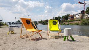 Heidelberg – Sommer am Fluss: Den Sandstrand am Neckar genießen