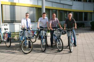 """Heidelberg – Fahrradvermietsystem """"VRN Nextbike"""": neue Station am Landratsamt Heidelberg"""