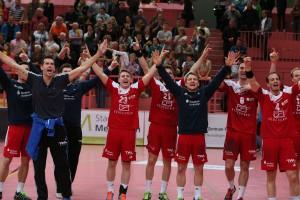 TV Neuhausen vs TSG Friesenheim, 2 Bundesliga, Handball, 10.05.2014