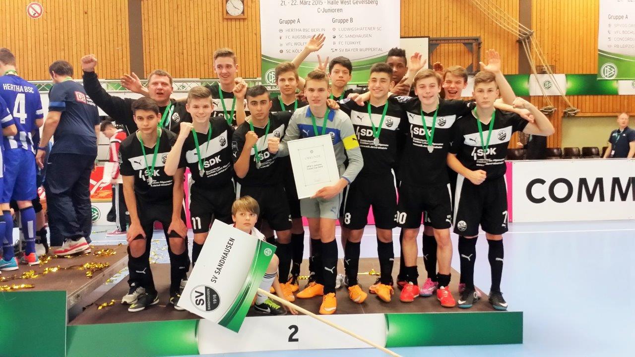 Sandhausen – Fußball : Bechtel-Buben deutscher Futsal Vize-Meister ...
