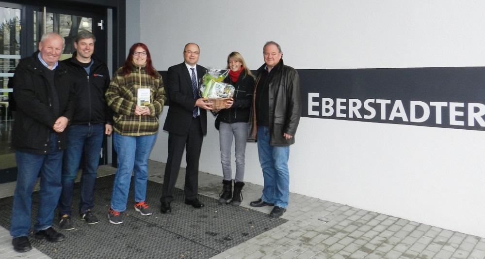 Buchen – Viermillionsten Besucher der Eberstadter Tropfsteinhöhle ...