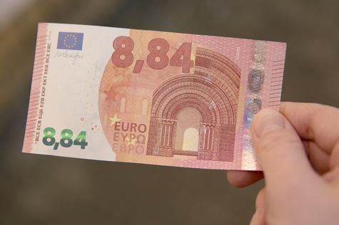 Mindestlohn Geld 8,84 Schein_high