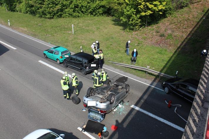 Ludwigshafen – Nachtrag: Schwerer Verkehrsunfall auf der B9 ...
