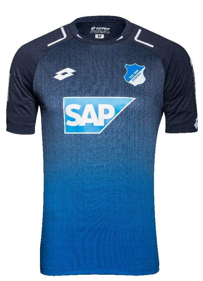 Hoffenheim Tsg 1899 Hoffenheim Präsentiert Neues Heim Trikot Für