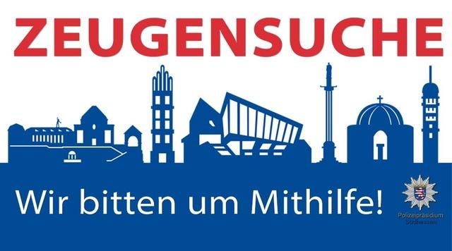Zeugensuche PP Südhessen