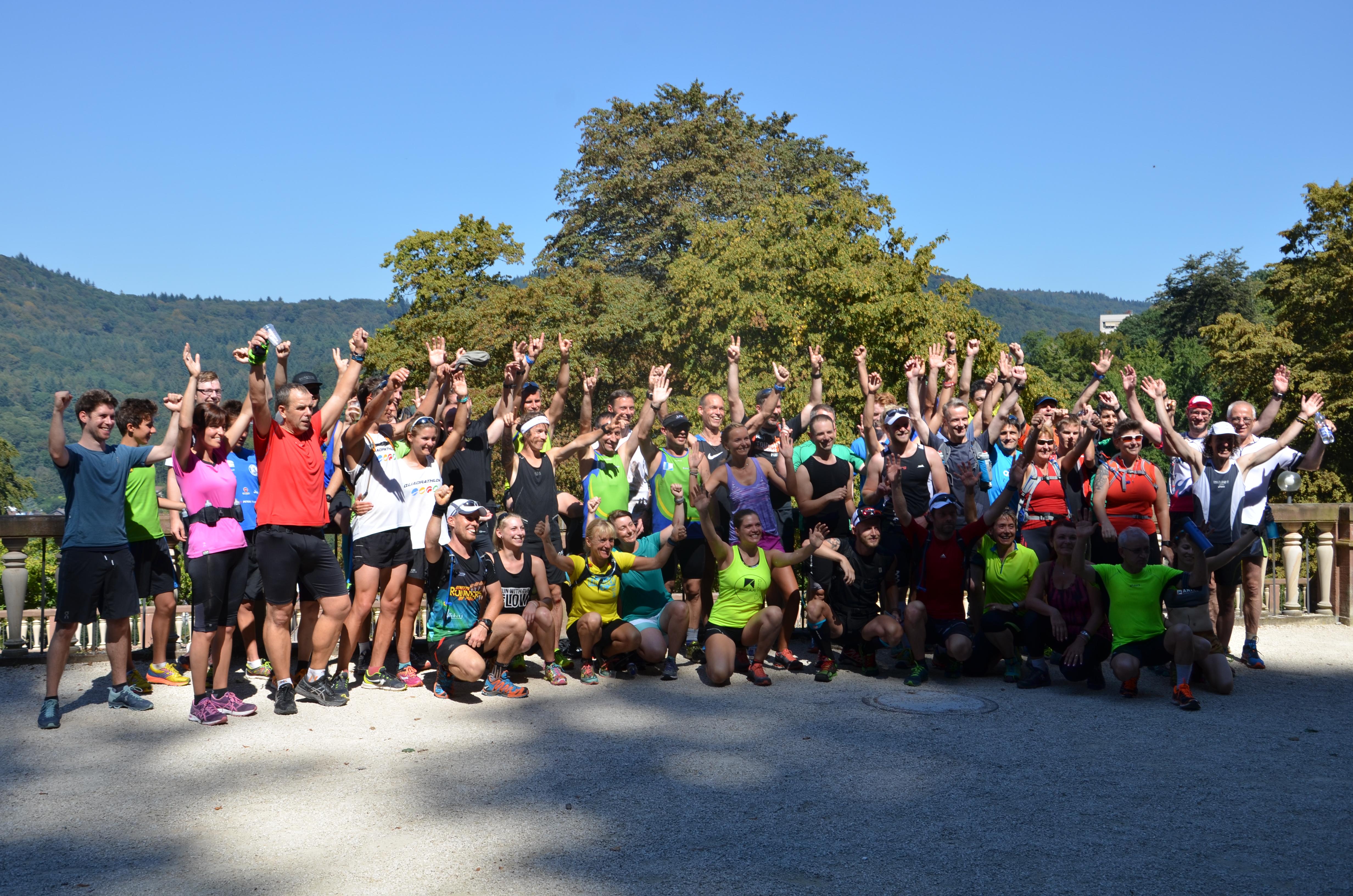 Vorbereitungslauf GELITA-Trail-Marathon 2016