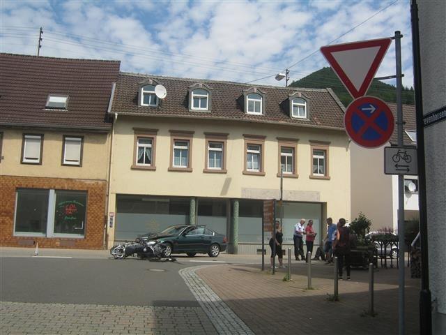 Unfallstelle in Lambrecht - Foto: PD Neustadt