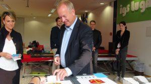 Ludwigshafen – Entscheidungstag in der Industriestadt – Dr. Uebel setzt Kreuz