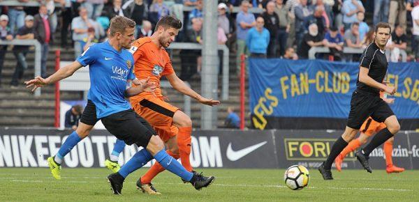 Walldorf – 1.FC Saarbrücken vs. FCA Walldorf 2:2 (0:2)