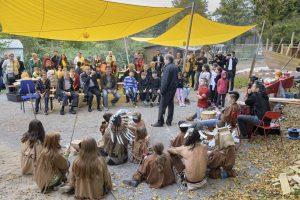 Heidelberg – Erneuerte Kinderbaustelle auf dem Emmertsgrund eröffnet! Neue Spielanlagen und Sonnensegel dank Spende von Falconwood Foundation um Dr. Henry Jarecki