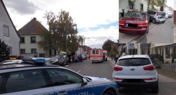 Maxdorf – 95-Jähriger verursacht Unfall mit schwerverletzter Radfahrerin und 30 000 € Schaden