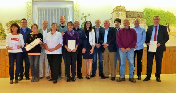 Rhein-Pfalz-Kreis – Weinlesefest mit Weinpatenernennung gefeiert