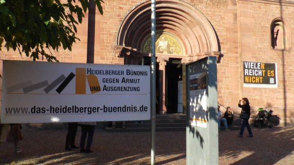 """Heidelberg – Aktionswoche gegen Armut und Kunstausstellung """"ArTmut"""" gestartet"""