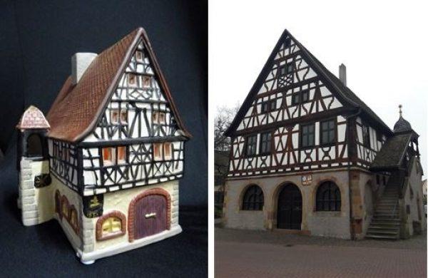 Schifferstadt – Altes Rathaus aus Keramik