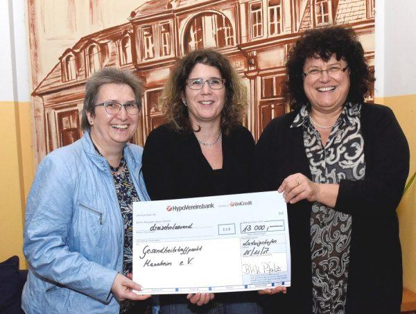 ludwigshafen – Die BKK Pfalz fördert Selbsthilfegruppen des Gesundheitstreffpunkt Mannheim e. V. mit 13.000 Euro