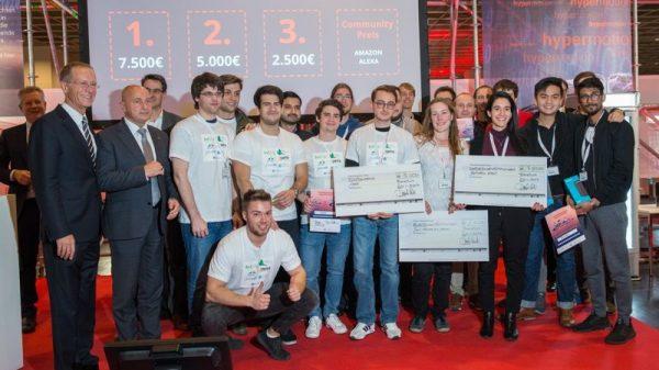 Mannheim – Weniger Lkws auf Deutschlands Straßen: Team aus Rhein-Neckar punktet mit innovativer Anwendung bei Hypermotion-Hackathon