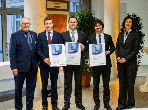 Weinheim – Zukunftstechnik entwickeln und verbessern Carl-Freudenberg-Preis zeichnet drei Wissenschaftler aus