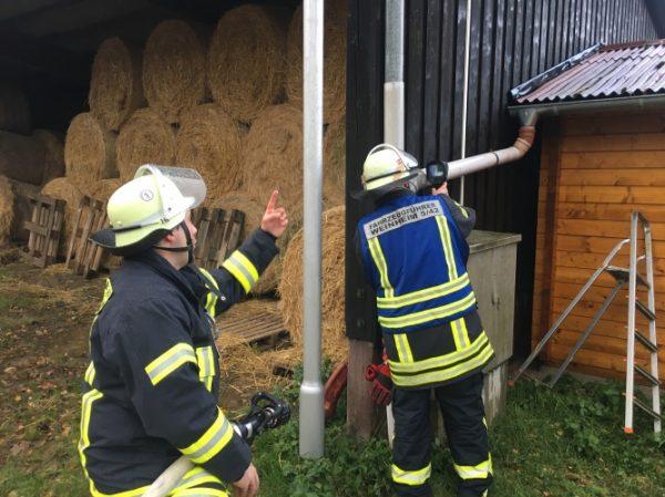 Weinheim – Feuer auf Reiterhof in Oberflockenbach