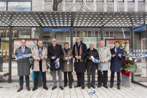 Mannheim – Nächster Halt: Planken! Stadtbahnen fahren ab 20.11. wieder durch die beliebte Einkaufsmeile