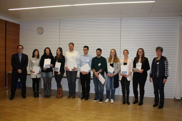 Ludwigshafen – Hochschule Ludwigshafen: Gut vernetzt und beste Chancen: 15 Studierende erhalten das begehrte Deutschlandstipendium