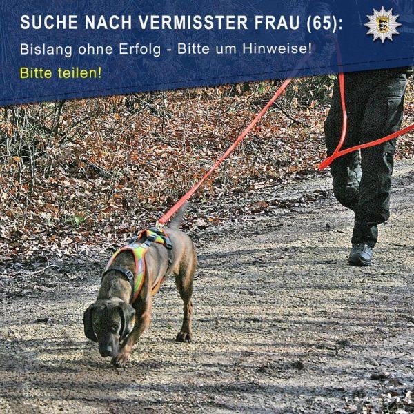 Dossenheim – Nachtrag – Vermisstensuche geht weiter –
