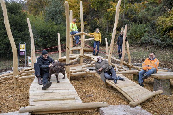 Heidelberg – Für Kinder und Erwachsene: der neu gestaltete Spielbereich am Philosophenweg