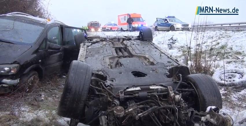 Ludwigshafen – Schwerer Unfall auf der A650 mit glücklichem Ende ...