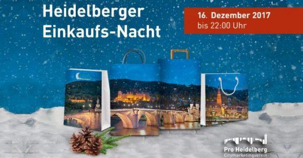 Heidelberg – Shop till you drop! Auf zur Heidelberger Einkaufs-Nacht!