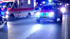 Mannheim – Großeinsatz in Neckarstadt – schwerer Verkehrsunfall auf der Jungbuschbrücke