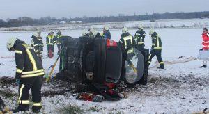 Haßloch – Unfall auf L 532 Feuerwehr befreit Insassen