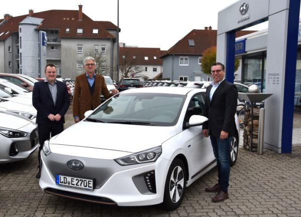 Landau – Verstärkung für die ESEL-Flotte – EnergieSüdwest erweitert umweltfreundlichen Carsharing-Fuhrpark