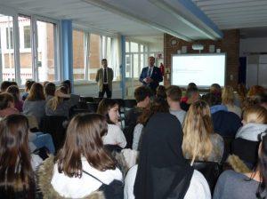 Ludwigshafen – Vortrag der Deutschen Bundesbank an der Anna-Freud Schule