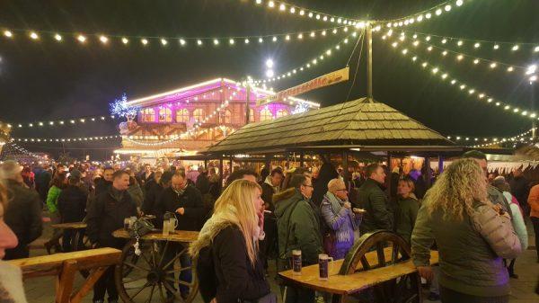 Ludwigshafen – MRN-Fußballblog mit einem Weihnachtsgruß vom Winterdorf