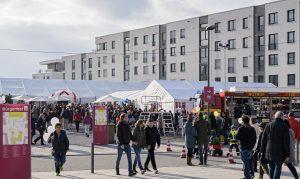 Heidelberg – 13.000 Menschen feiern Heidelberger Bürgerfest in der Bahnstadt – Video folgt
