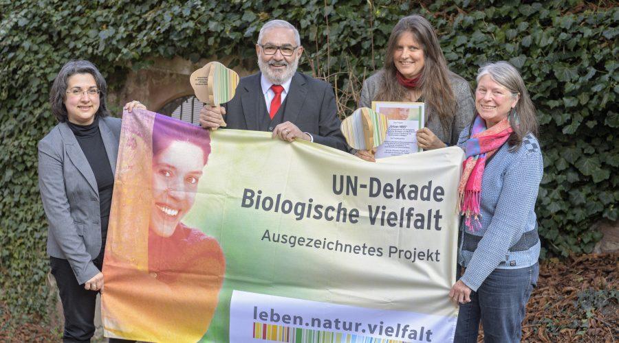 Heidelberg – Die Natur in die Stadt zurückbringen: Heidelbergs Aktivitäten als Projekt der UN-Dekade Biologische Vielfalt ausgezeichnet!