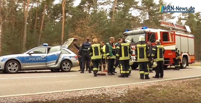 Landkreis Bad Dürkheim – Schwerer Unfall auf L530 (VIDEO ...