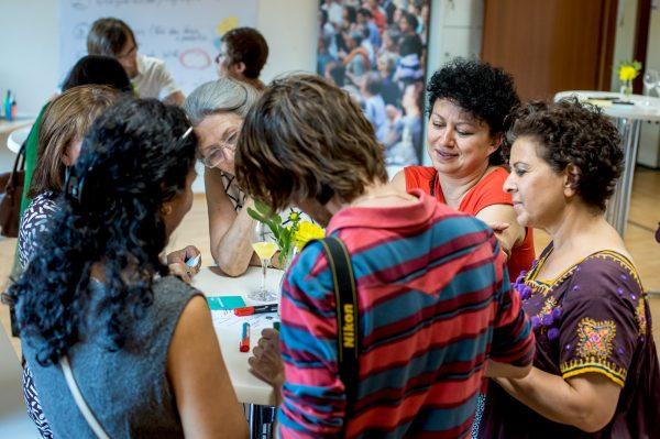 Heidelberg – Argumentationstraining im IZ  Auf konfrontierende Diskriminierungen und Beleidigungen angemessen reagieren