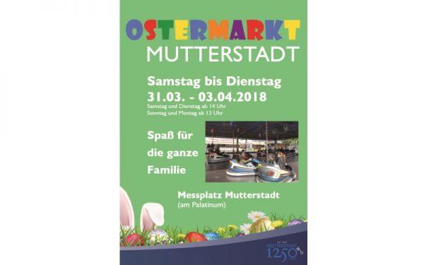 Rhein-Pfalz-Kreis – Mutterstadter Ostermarkt vom 31.03.-03.04.2018