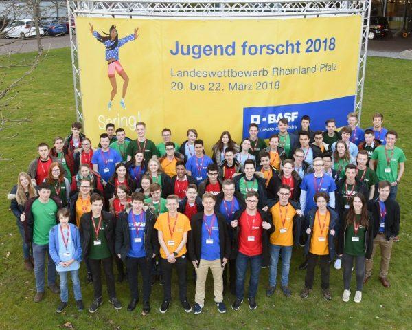 """Ludwigshafen – """"Jugend forscht"""" bei BASF: Landessieger Rheinland-Pfalz ausgezeichnet"""