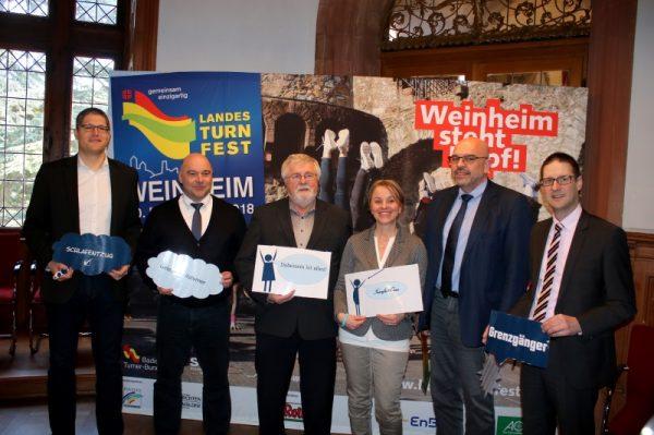 Weinheim – 12.298 Teilnehmer für das Landesturnfest in Weinheim angemeldet
