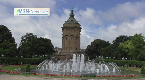 Mannheim – MVV nimmt Fontänenanlage zu Ostern in Betrieb