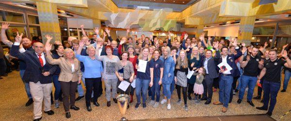 Heidelberg – Sportlerinnen und Sportler des Jahres 2017 geehrt – Schwimmer Nina Kost und Philip Heintz, Rugby-Team SC Neuenheim sowie Seniorensportler ausgezeichnet