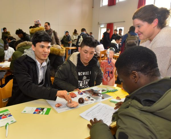 Heidelberg – Finde deinen Beruf! Junge Geflüchtete informierten sich über Ausbildungsberufe