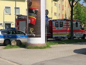 Ludwigshafen – Erstmeldung: Berufsfeuerwehr derzeit im Einsatz am Güterbahnhof