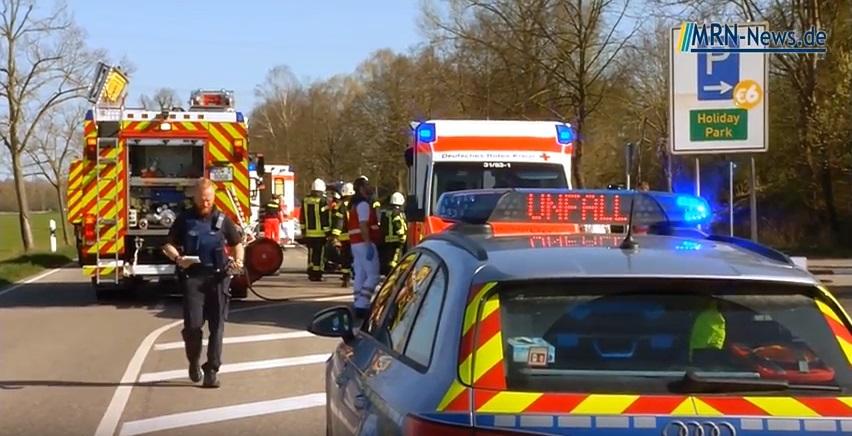 Landkreis Bad Dürkheim – VIDEO-NACHTRAG: Unfall auf L 529 Zufahrt ...